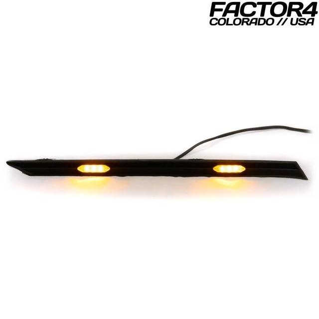【 Factor4 】RAV4 Grille Lights (Smoked White)