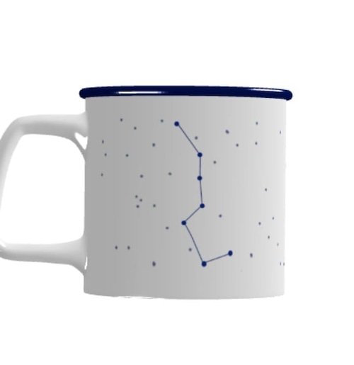 北の夜空マグカップ