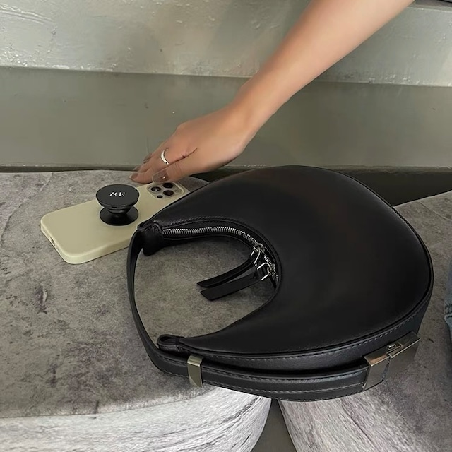 circle design bag