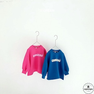 «sold out» Choücoü  2colors チョコスウェット