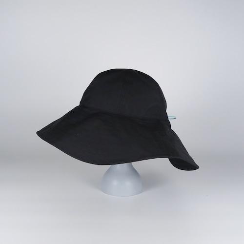 AW21-BD-2 TF Draw Big Hat - BLK