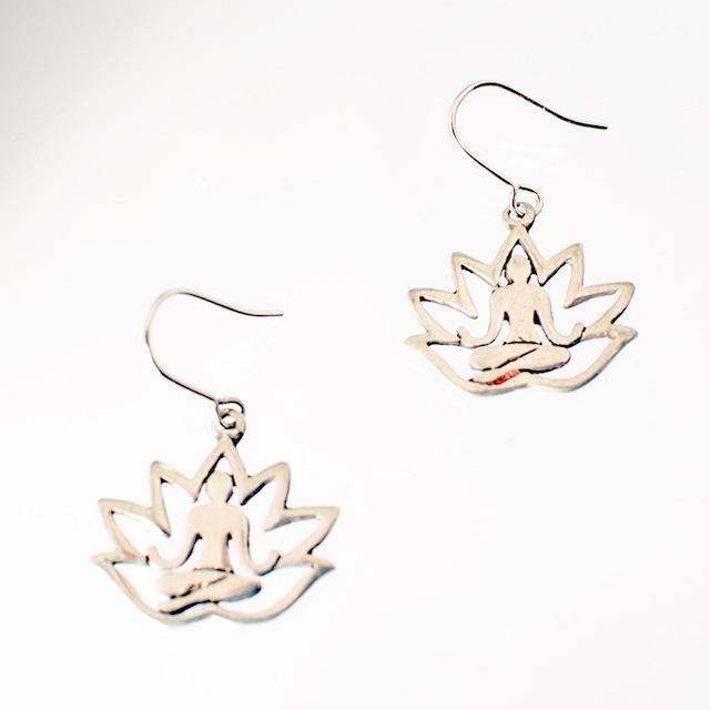 ピアス ロータス08 Pierced Earrings Lotus08