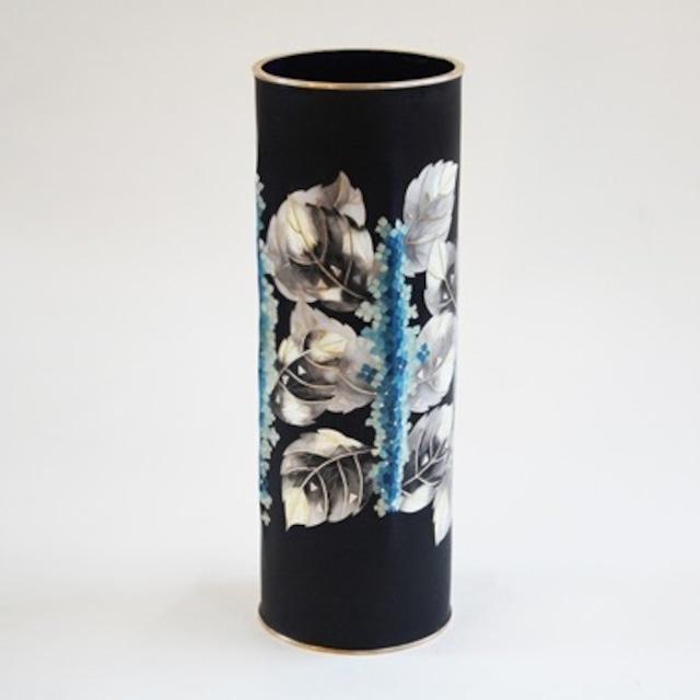 紫陽花文様 七宝花瓶