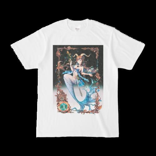 オリジナルTシャツ【星之物語-Star Story- 山羊座-Capricornus-】 / yuki*Mami