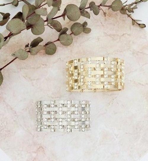 ブレスレット gold OR silver 【0325-17】