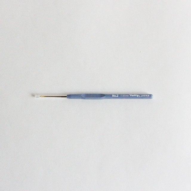 クッショングリップ付きレース針 NO,2【1.5mm】