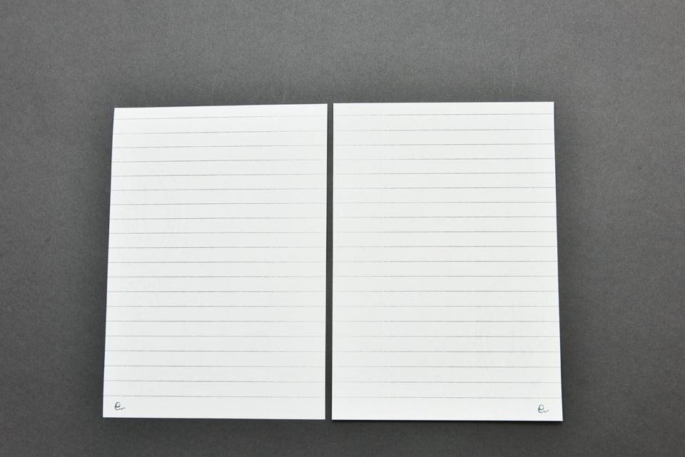 オリジナルリングノート詰め替え用リフィル(太罫線)