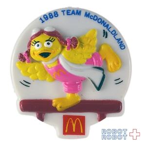 マクドナルド バーディー バッジ 1988 ハッピーセット マクドナルドランド