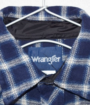 USED WRANGLER WESTERN CHECK SHIRT