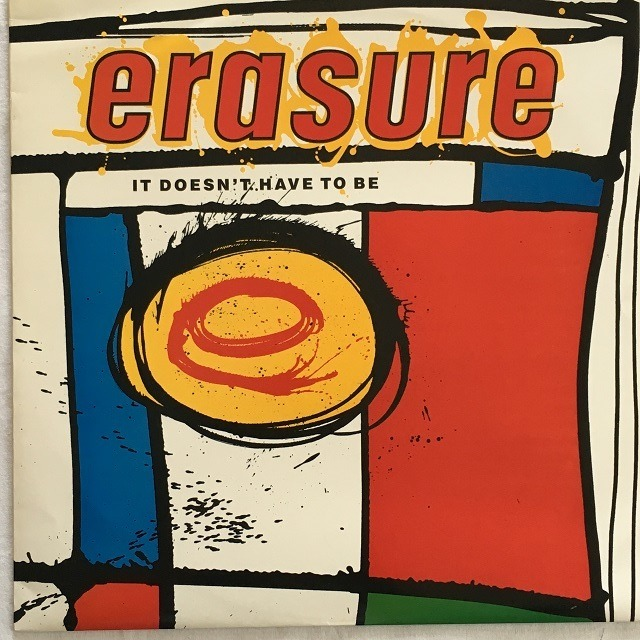 【12inch・英盤】Erasure / It Doesn't Have To Be