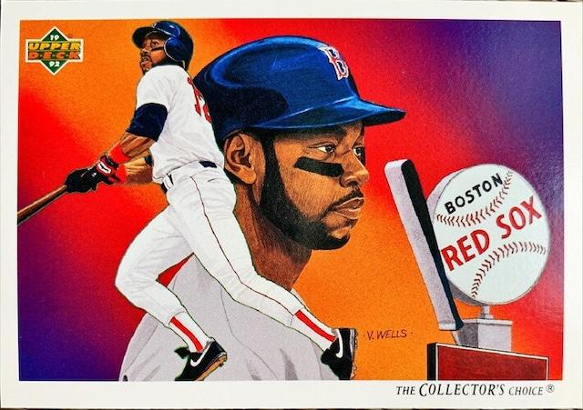 MLBカード 92UPPERDECK Ellis Burks #094 RED SOX CHECKLIST