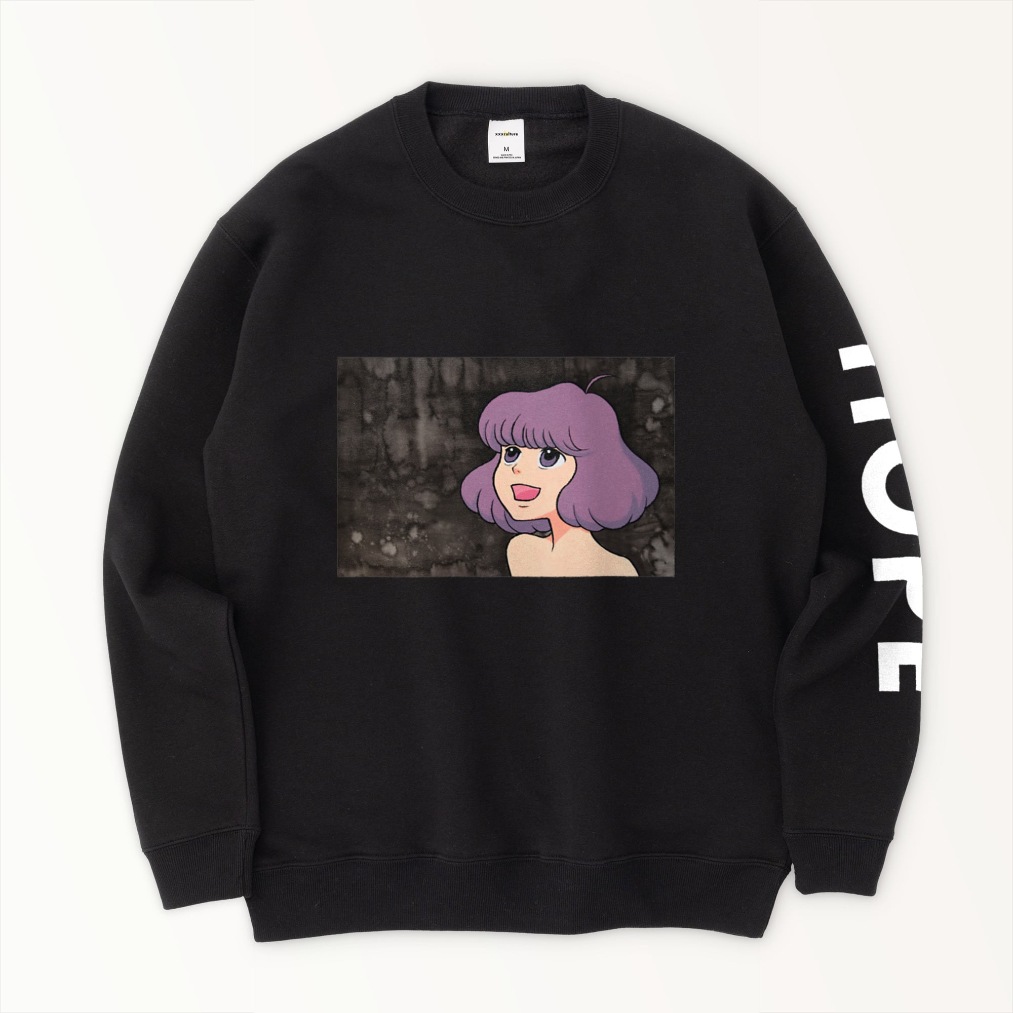 xxxculture HOPE ART - SWEATSHIRTS - BLACK