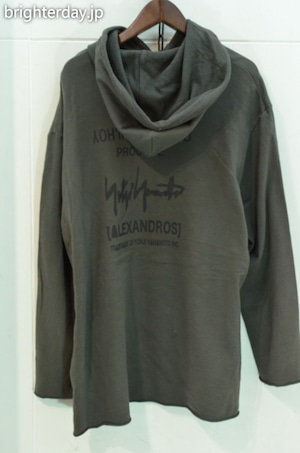 Yohji Yamamoto × Alexandros パーカー