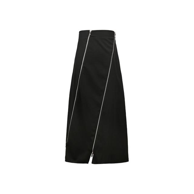 【1 JINN STUDIO】スパイラルZIPスカート