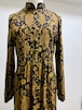 Vintage Paisley Rayon Dress