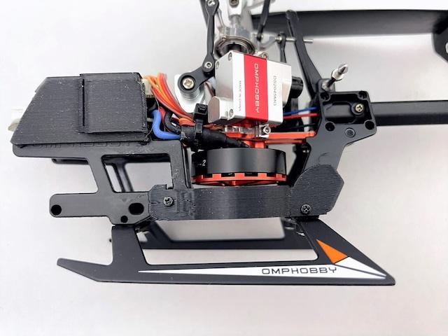 ◆M1ブラシレステールモーター・イエロー  OSHM1031  (ネオヘリでM1購入者のみ購入可)