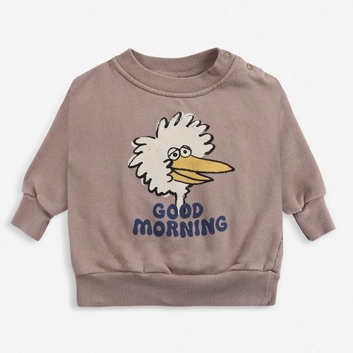 BOBOCHOSES Birdie sweatshirt (12-36m)
