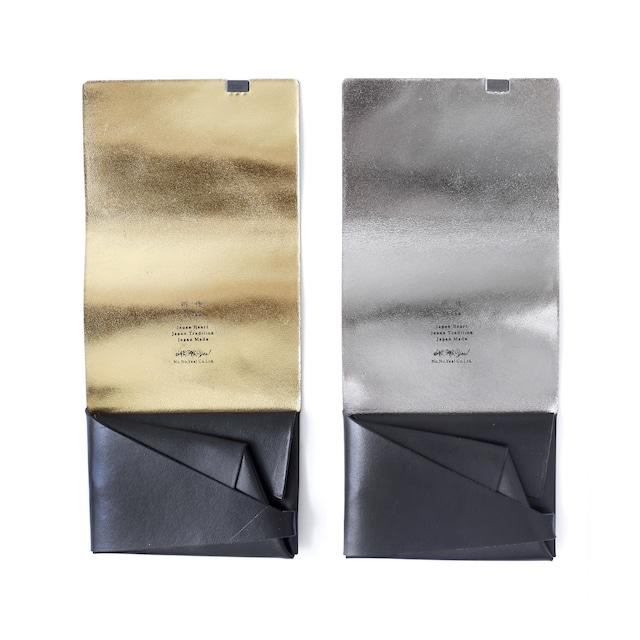 ボレロ ショートウォレット1.0 ブラック×シルバー&ブラック×ゴールド