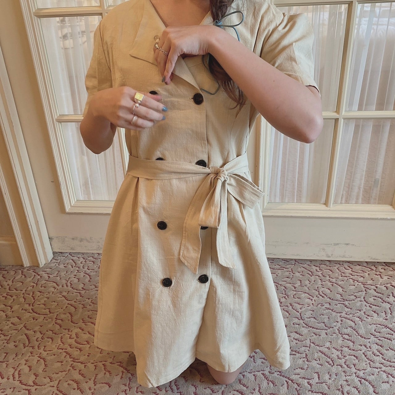 trench one-piece