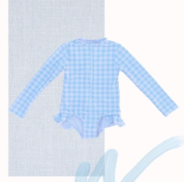 WILLOW SWIM / SOPHIA BLUE GINGHAM