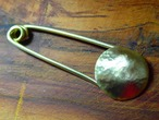 Brass tsuchime pin