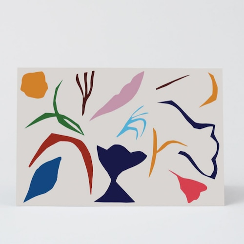 WRAP / ABSTRACT 1 ART CARD -Illustrated by Antti Kekki-