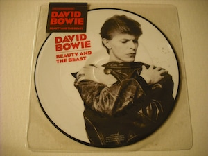 """【7"""" PICTUREDISC】DAVID BOWIE / BEAUTY AND THE BEAST"""