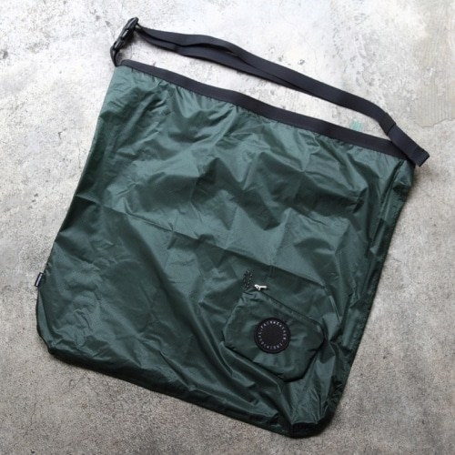 FAIRWEATHER  packable sacoche(グリーン)フェアウェザー パッカブルサコッシュ