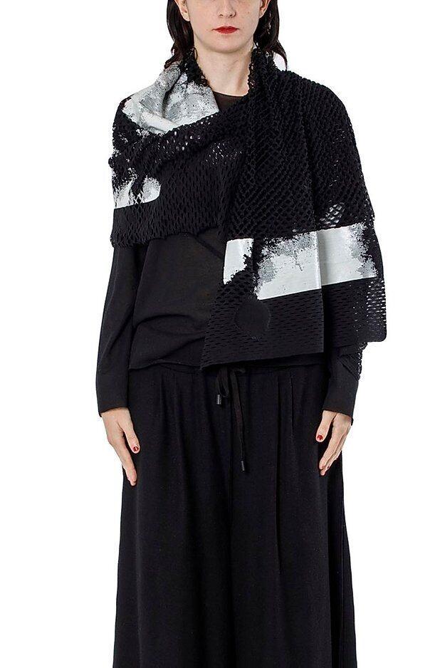 [着るストール]ウール : オラコーニス   KABUKU 1604wRL ミハイルギニスアオヤマ[登録意匠][MADE IN JAPAN][税/送料込み]全7色