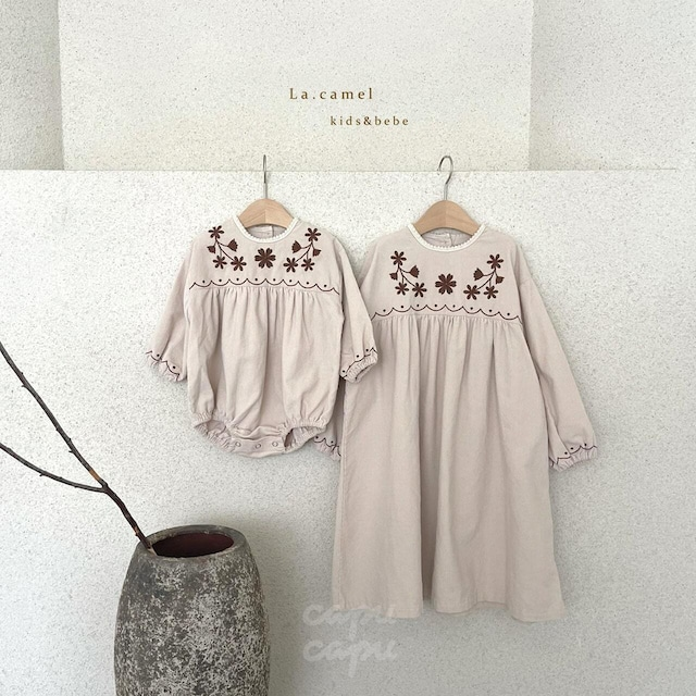 «sold out»«baby» La camel daisy suit デイジーロンパース