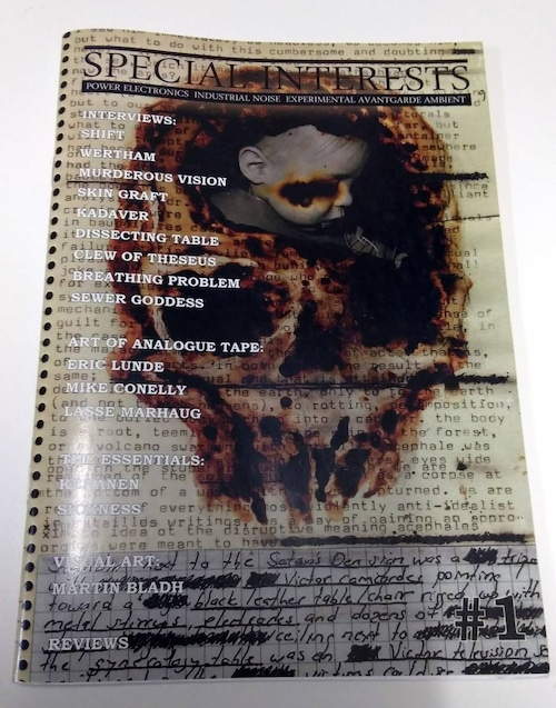 [USED] SPECIAL INTERESTS #1 (2009) [ZINE]