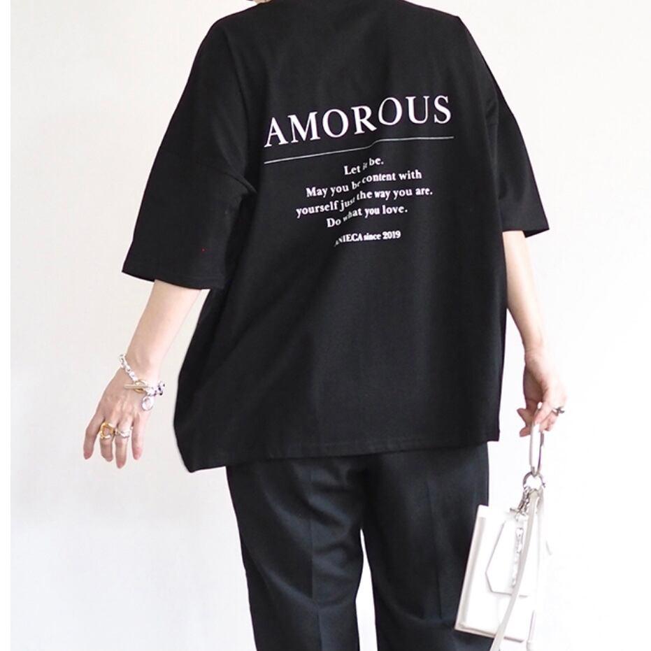 【 ANIECA 】Print T-shirts