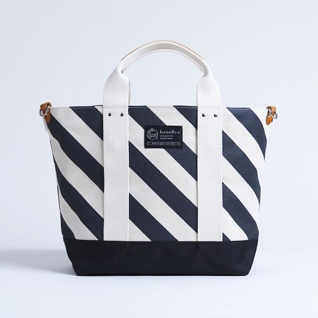 Bon Voyage Tote  / black × stripe ボンボヤージュトート / 墨 x 縞
