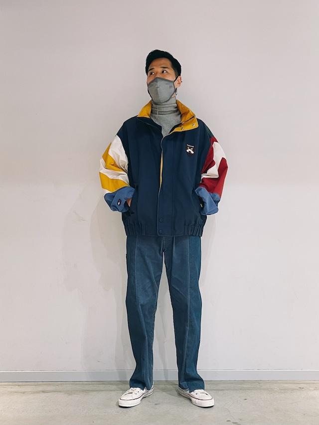 (OT036)Tommy Hilfiger nylon jacket