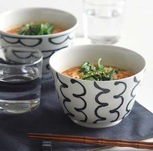 【natural69】 【スチールライン】【丼】 波佐見焼 食器 北欧 おしゃれ ラーメン鉢 どんぶり