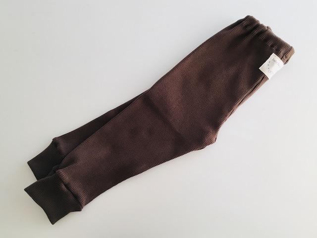スムースニット素材スパッツ・紫90cm