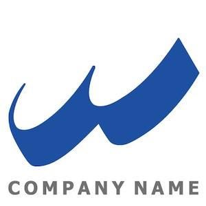 W文字 ロゴデザイン