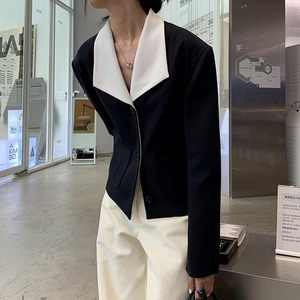Big lapel jacket(ビッグラペルジャケット)b-445