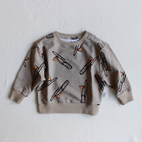 《ONE DAY PARADE 2021AW》SWEATER / TROMBONE