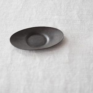 三輪周太郎 Shutaro Miwa  銅製楕円茶托