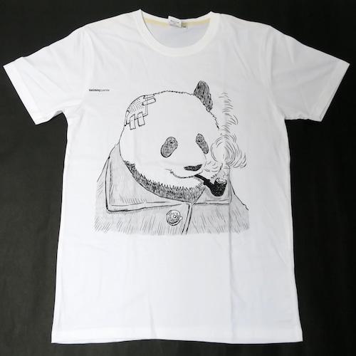 ゴッホに扮したパンダが渋い!「スモーキング・パンダ」Tシャツ
