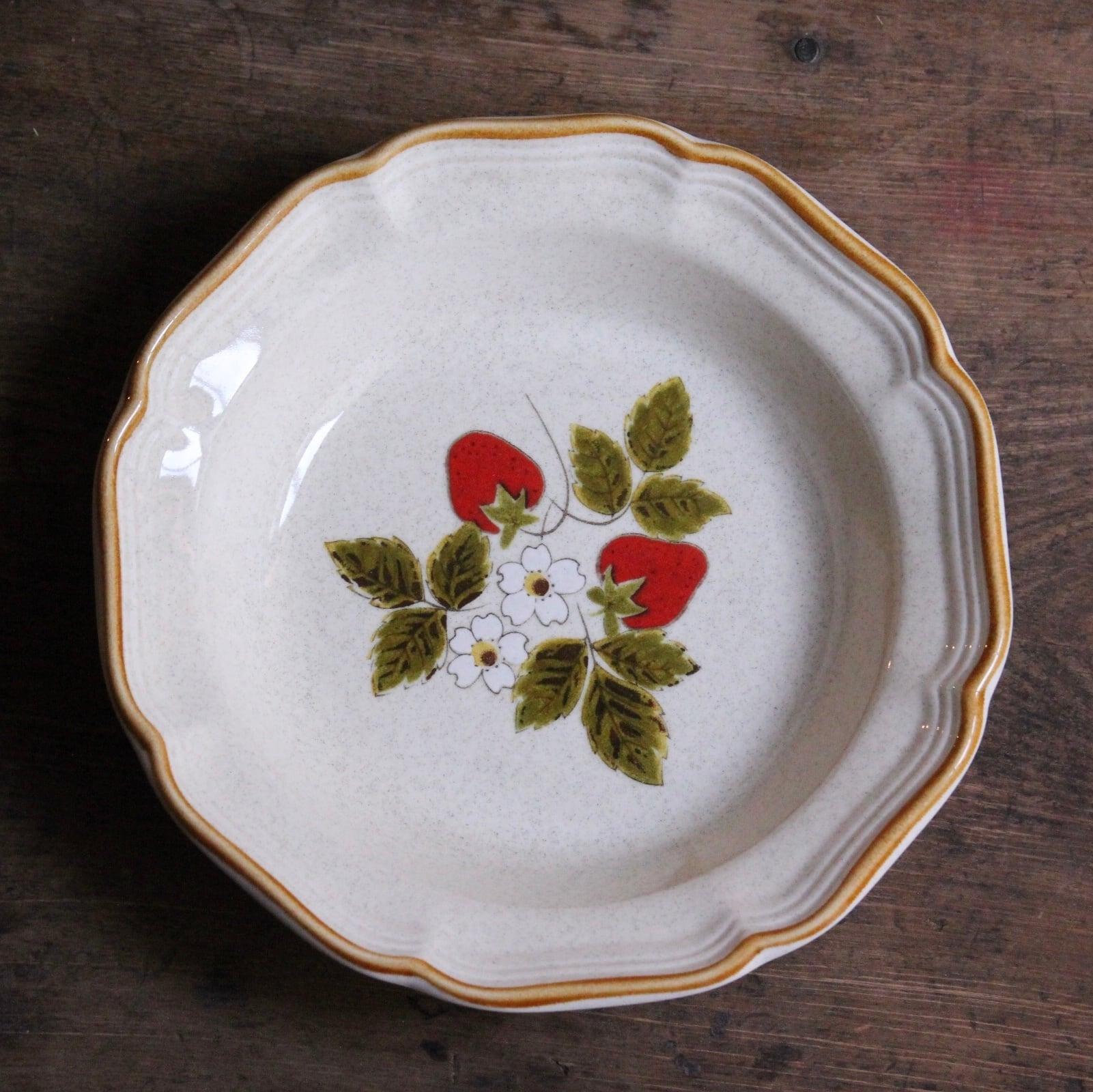 ミカサ ストロベリーフェスティバル パスタ皿 在庫1枚