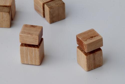 Drumstick cubic studs