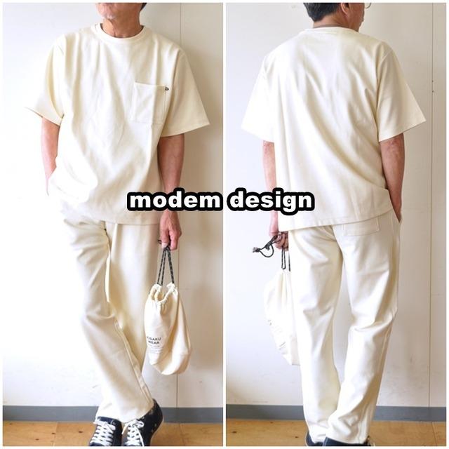 modemdesign モデムデザイン 3点セットアップ 2101763 カットソー、イージーパンツ、巾着袋 セットアップ・