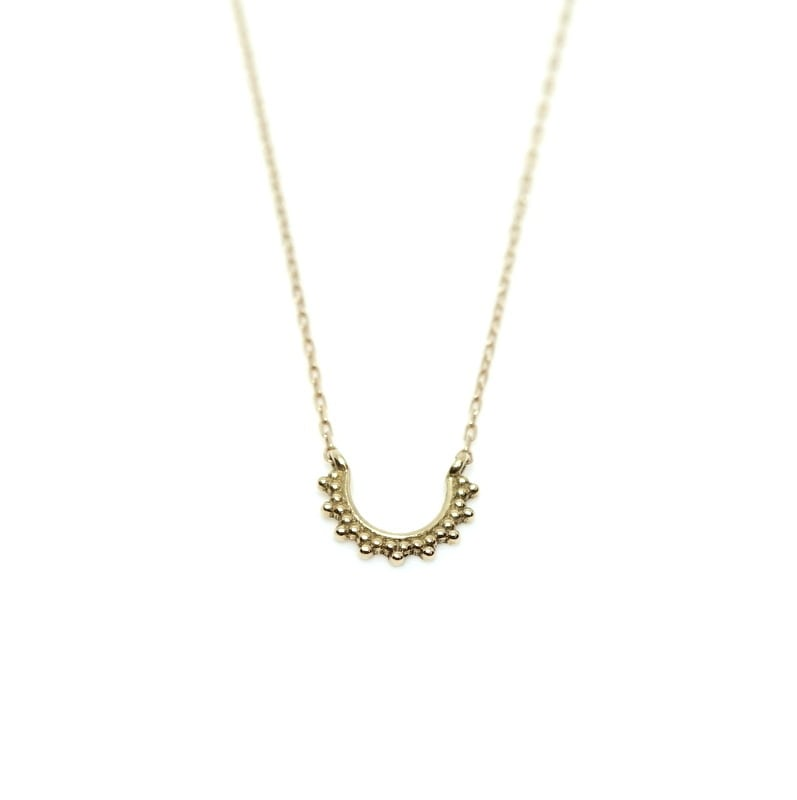 Granulation Necklace - curve