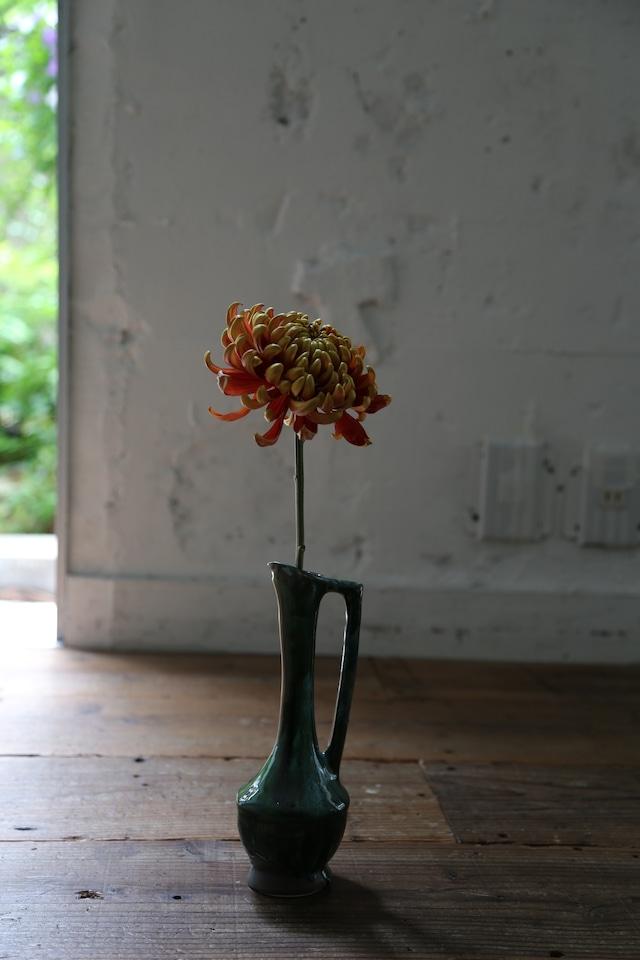 Vallauris Flower Vase-Green