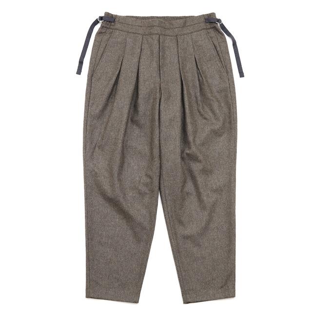 【SAYATOMO】Karusan Flannel Pnts BEIGE