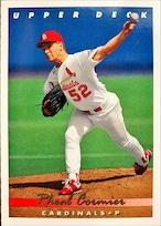 MLBカード 93UPPERDECK Rheal Cormier #079 CARDINALS