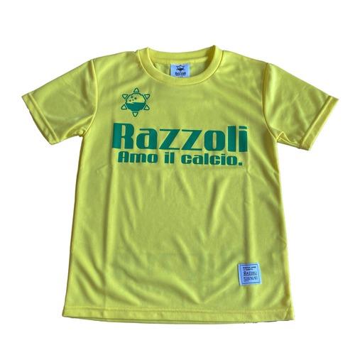 Razzoli ジュニア プラシャツ YELLOW(RZZKS01)