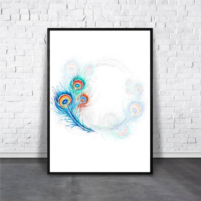 Peacock / 【アートポスター専門店 Aroma of Paris】[AP-000296]